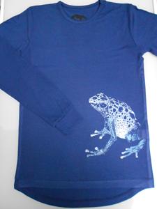 shirtblauwepijlgifkikker